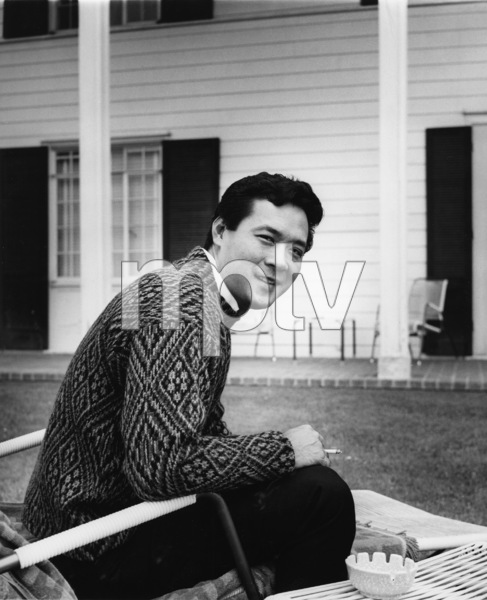 James Shigeta in rear of his Georgian-Colonial home on top of the Hollywood Hillscirca 1956Photo by Joe Shere - Image 21096_0004