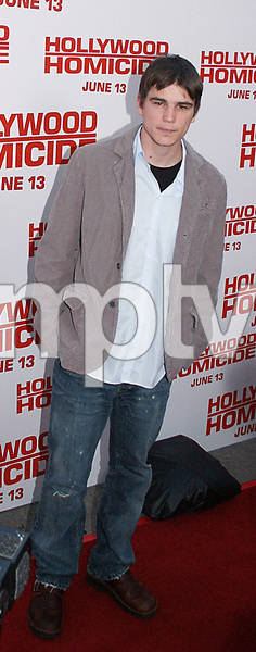 "Josh Hartnett""Hollywood Homicide"" Premiere 6/13/03 © 2003 Sam Kweskin - Image 21302_0003"