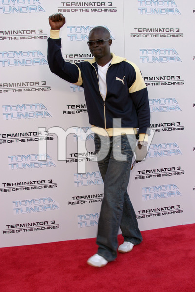 """Terminator 3: Rise of the Machines"" Premiere 6/30/03Djimon Hounsou © 2003 Sam Kweskin - Image 21316_0018"