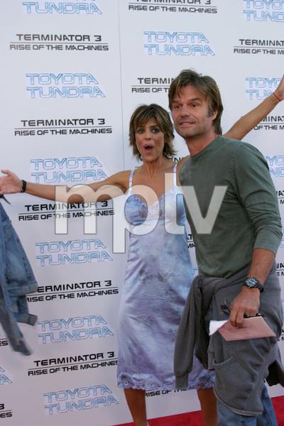 """Terminator 3: Rise of the Machines"" Premiere 6/30/03Lisa Rinna & Harry Hamlin © 2003 Sam Kweskin - Image 21316_0023"