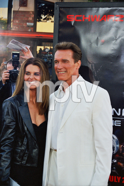 """""""Terminator 3: Rise of the Machines"""" 6-30-03Arnold Schwarzenegger and wife Maria ShriverPhoto by Cindy Burtin - Image 21316_0106"""