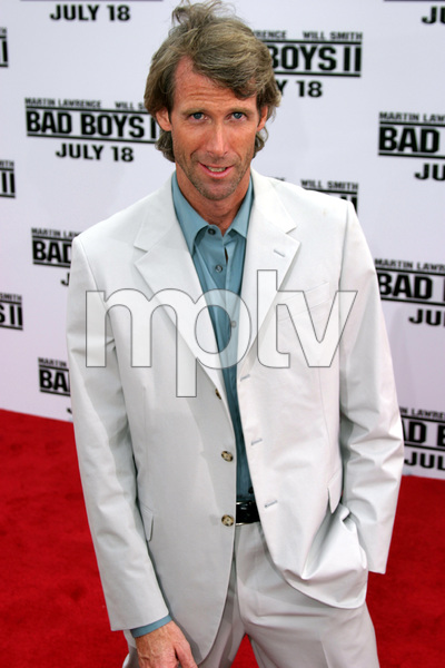 """Bad Boys 2"" Premiere 7-9-03Director Michael Bay © 2003 Sam Kweskin - Image 21319_0063"