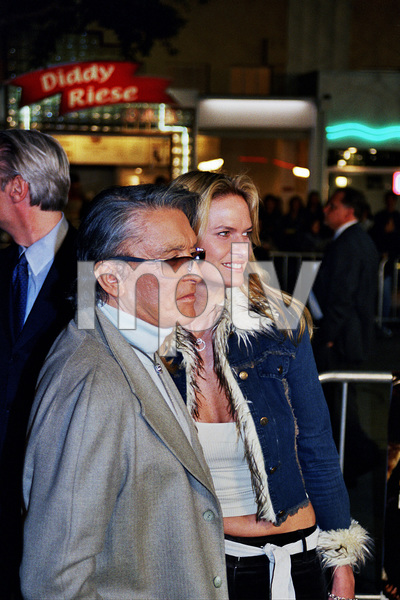 """The Hunted"" Premiere 3-11-03Robert Evans and wifePhoto by Cindy Burtin - Image 21346_0003"