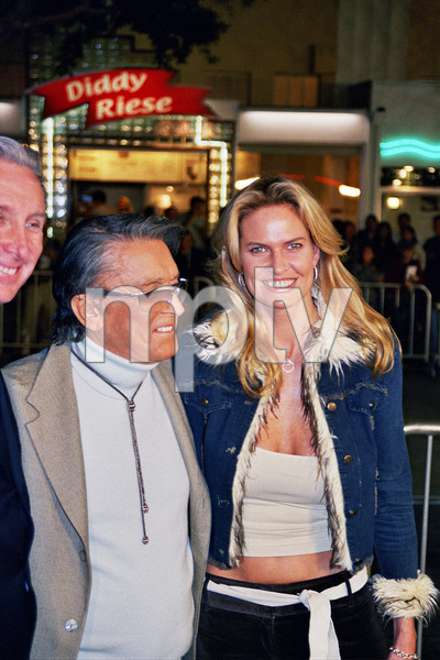 """""""The Hunted"""" Premiere 3-11-03Robert Evans and wifePhoto by Cindy Burtin - Image 21346_0015"""