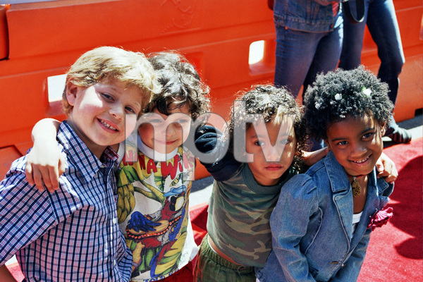 """""""Daddy Day Care"""" Premiere 5-9-03Connor Young, Max Burkholder,Felixe Archille, & KennedyMcCulloughPhoto By Cindy Burtin - Image 21349_0019"""