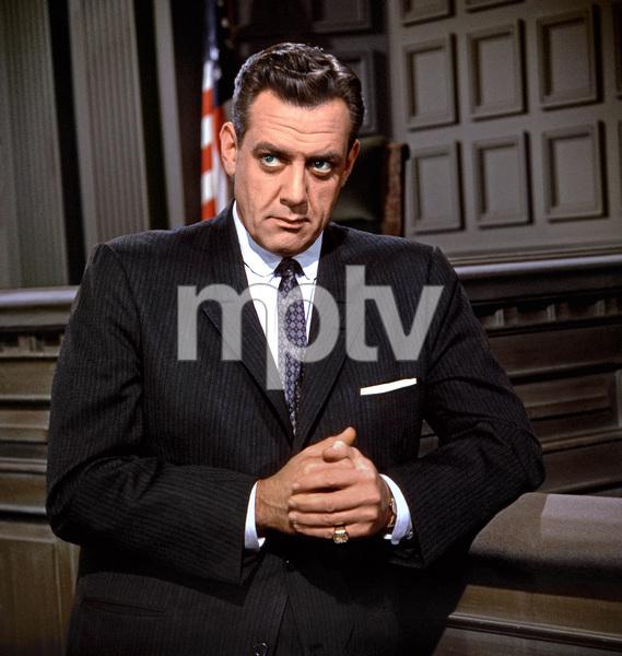 """Perry Mason Show""Raymond Burrcirca 1963** I.V. - Image 2136_0045"