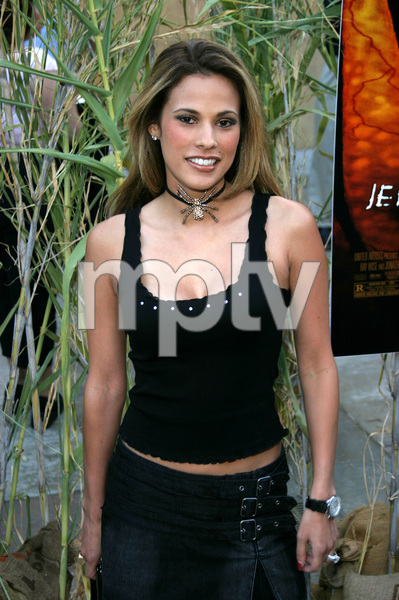 """""""Jeepers Creepers 2"""" Premiere 8-25-03Bonnie-Jill LaflinPhoto By Sam Kweskin - Image 21434_0002"""