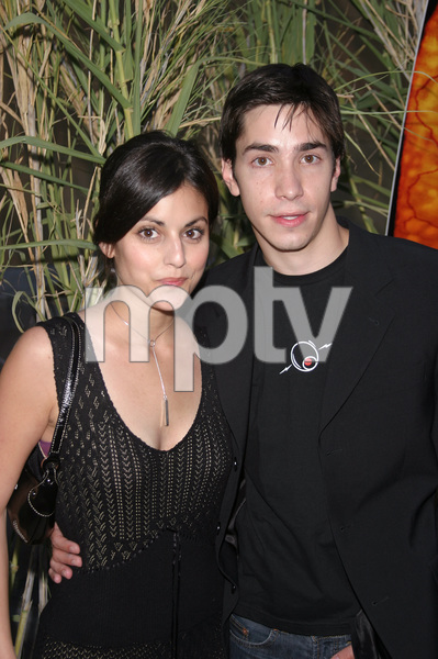 """Jeepers Creepers 2"" Premiere 8-25-03Justin Long and Katie SimpesPhoto By Sam Kweskin - Image 21434_0118"