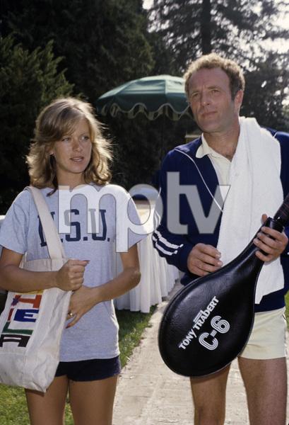 James Caan with Sheila Ryancirca 1970s© 1978 Gary Lewis - Image 2145_0026