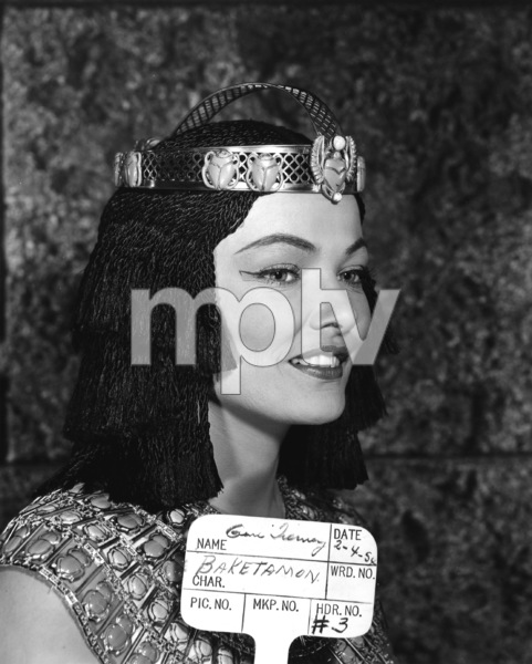 """The Egyptian""Gene Tierney1954 20th Century Fox** I.V. - Image 21496_0002"