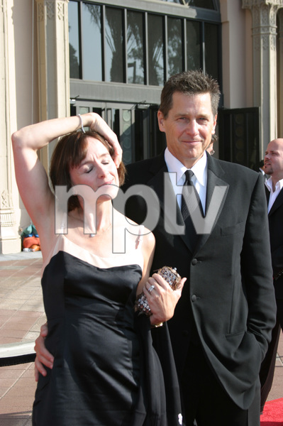 """Emmy - Creative Art Awards""9-13-2003Tim Matheson and wifePhoto by Sam Kweskin - Image 21501_0118"