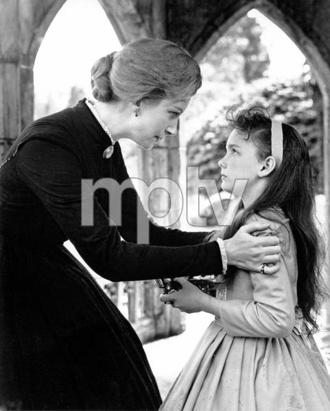 """""""THE INNOCENTS"""" Deborah Kerr,  Pamela Franklin, TCF, 1961, I.V. - Image 21509_0020"""