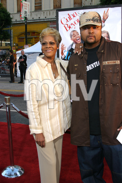 """""""The Fighting Temptations"""" Premiere9-17-2003Dionne Warwick and sonPhoto by Sam Kweskin - Image 21512_0003"""