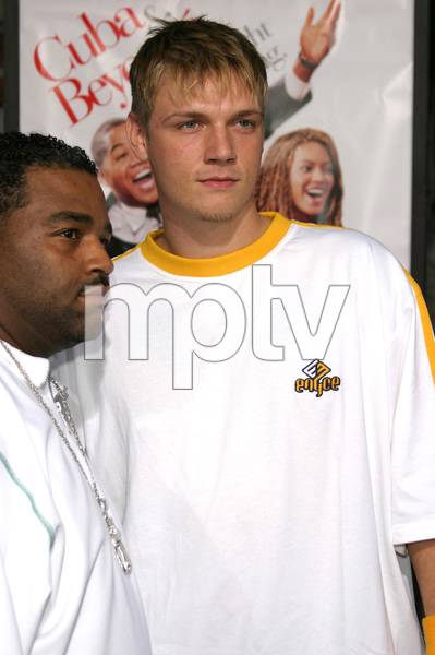 """""""The Fighting Temptations"""" Premiere9-17-2003Nick Carter and FriendPhoto by Sam Kweskin - Image 21512_0020"""