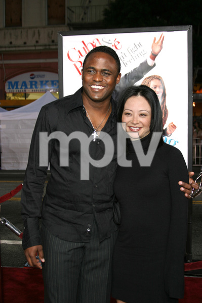 """The Fighting Temptations"" Premiere9-17-2003Wayne Brady and wife MandiePhoto by Sam Kweskin - Image 21512_0049"