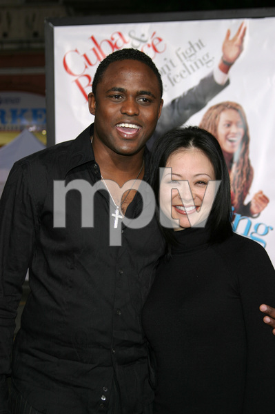 """The Fighting Temptations"" Premiere9-17-2003Wayne Brady and wife MandiePhoto by Sam Kweskin - Image 21512_0050"