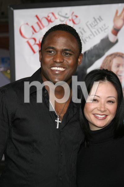 """The Fighting Temptations"" Premiere9-17-2003Wayne Brady and wife MandiePhoto by Sam Kweskin - Image 21512_0052"