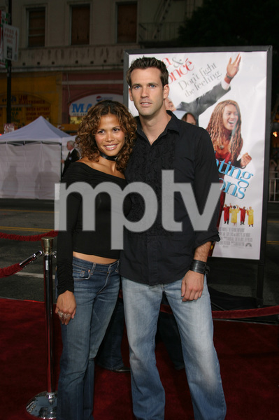 """""""The Fighting Temptations"""" Premiere9-17-2003Lourdes Benedicto and friendPhoto by Sam Kweskin - Image 21512_0063"""