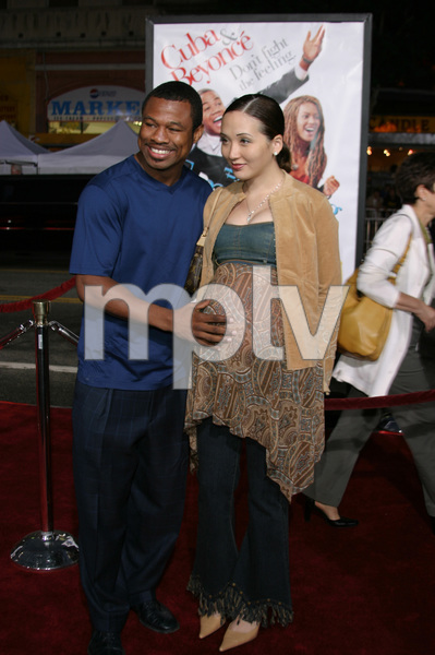 """""""The Fighting Temptations"""" Premiere9-17-2003Sugar Shane Mosley and wife JinPhoto by Sam Kweskin - Image 21512_0088"""