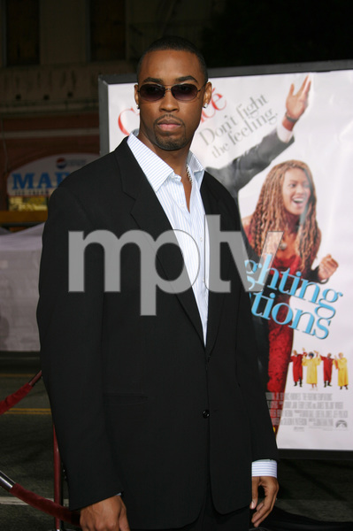 """The Fighting Temptations"" Premiere9-17-2003Montel JordanPhoto by Sam Kweskin - Image 21512_0094"
