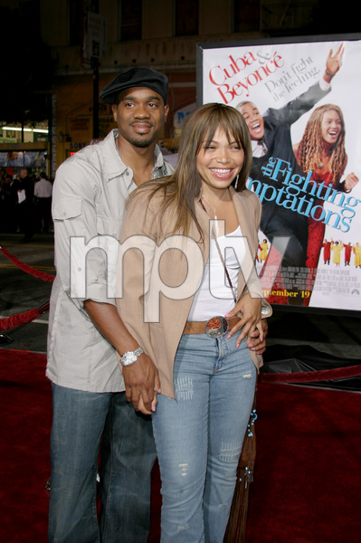 """The Fighting Temptations"" Premiere9-17-2003Duane Martin and wife Tisha Campbell-MartinPhoto by Sam Kweskin - Image 21512_0161"
