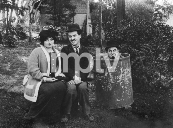 """Between Showers""Charlie Chaplin and Ford Sterling1914**I.V. - Image 21544_0001"