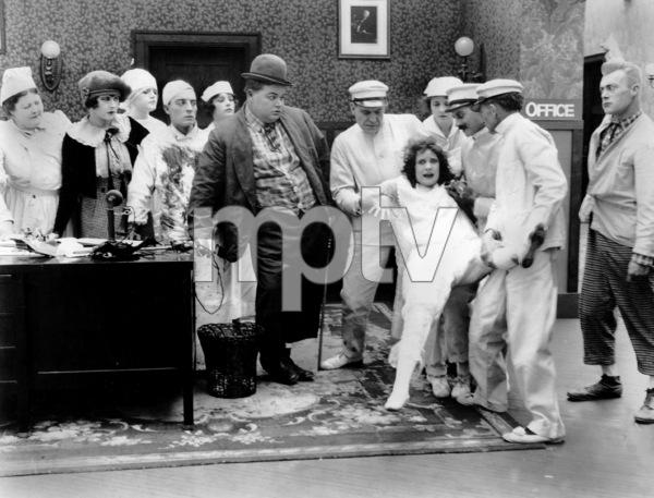 """Good Night Nurse""Roscoe ""Fatty"" Arbuckle &  Alice Lake1918 Paramount**I.V. - Image 21547_0005"