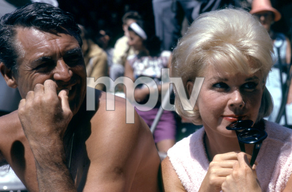 """""""That Touch of Mink""""Cary Grant, Doris Day1962 Universal Pictures © 1978 Leo Fuchs - Image 21587_0010"""