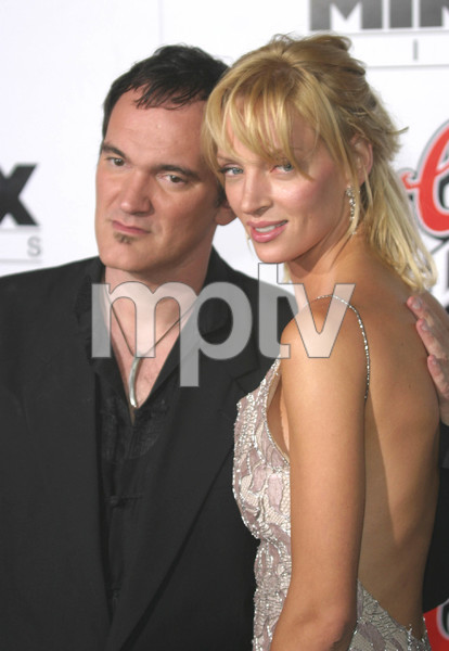 """Kill Bill Vol. 1"" Premiere09/29/03Quentin Tarantino & Uma Thurman  Graumans Chinese Theater Hollywood, CAMPTV - Image 21590_0135"
