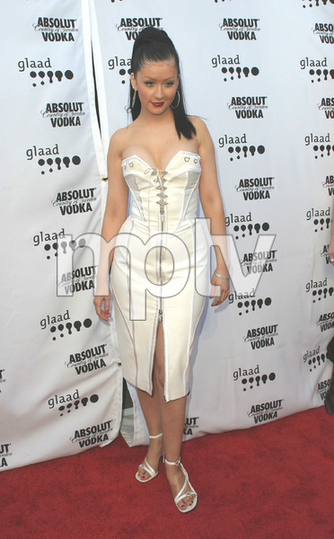 """14th Annual GLAAD Media Awards"" 4-26-03Christina AguileraMPTV - Image 21590_0209"