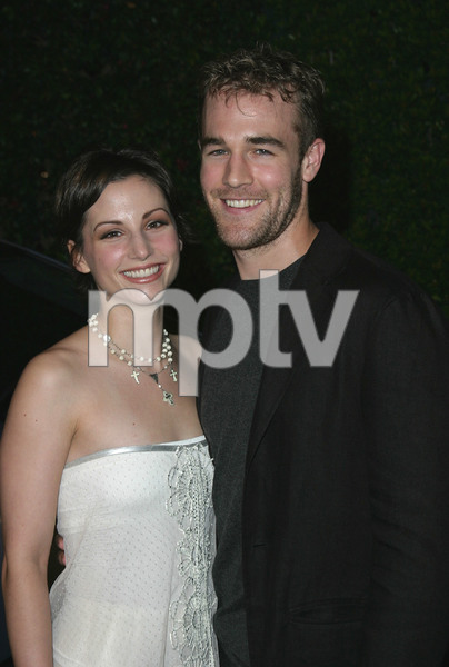 """13th Annual Environmental Media Awards"" 11/05/03James Van Der Beek & wife Heather McComb  MPTV - Image 21590_0412"