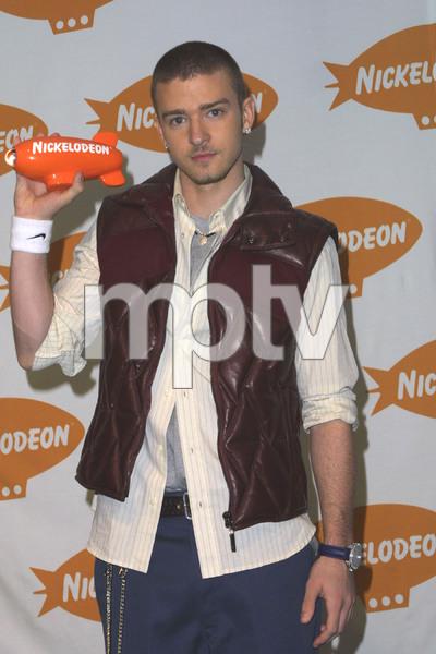 """16th Annual Nickelodeon Kids Choice Awards"" 4-12-03Justin TimberlakeMPTV/S.W. - Image 21590_0878"