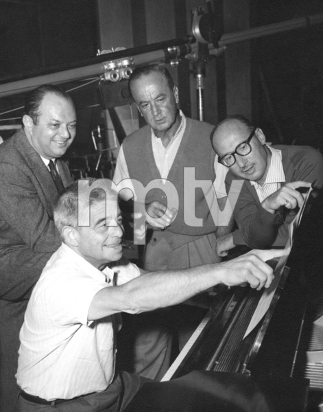"""Best of Everything""Director Jean Negulesco, Producer Jerry Wald and composer Alfred Newman1959 Twentieth Century Fox - Image 21708_0028"