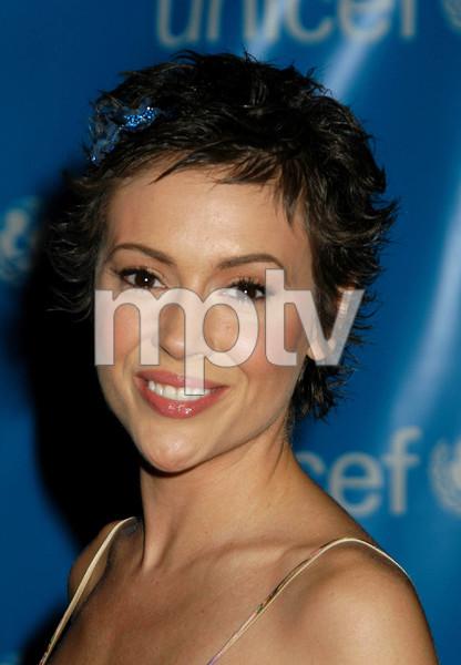 """UNICEF Goodwill Gala: 50 Years of Celebrity Advocacy"" 12-03-03Alyssa MilanoMPTV  - Image 21709_0004"