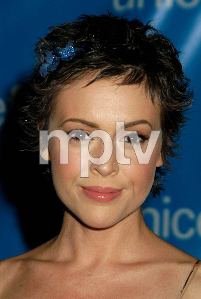 """UNICEF Goodwill Gala: 50 Years of Celebrity Advocacy"" 12-03-03Alyssa MilanoMPTV  - Image 21709_0007"
