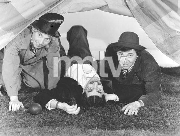 "The Marx Brothers (Harpo, Groucho, Chico) in ""At the Circus"" 1939 ** I.V. - Image 21717_0001"