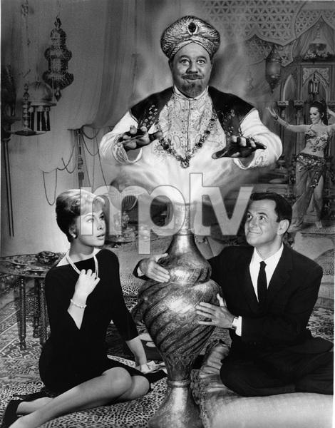 BRASS BOTTLE, Barbara Eden, Tony Randall, Burl Ives, Universal,  I.V. - Image 21742_0002