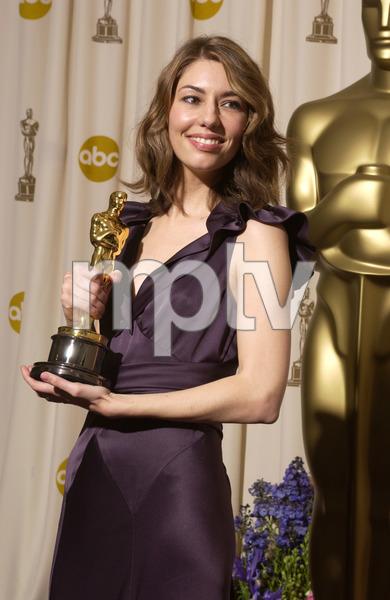 """76th Annual Academy Awards"" February 29, 2004Sofia Coppola © 2004 AMPAS - Image 21781_0054"