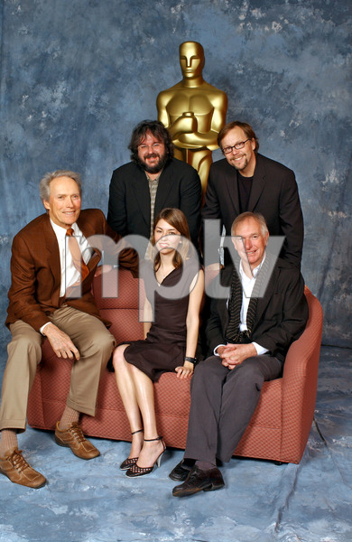 """""""76th Annual Academy Awards"""" Nominees Luncheon 02/09/04Clint Eastwood, Peter Jackson, Fernando Meirelles, Peter Weir & Sofia Coppola © 2003 AMPAS                               - Image 21781_0059"""
