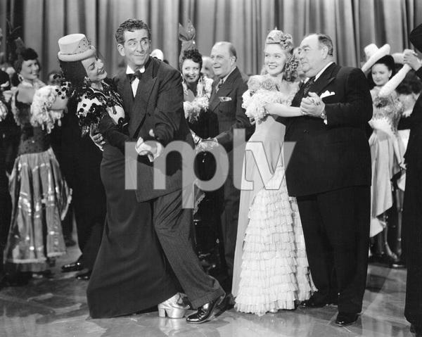 Carmen Miranda, Edward Everett Horton, Alice Faye, Eugene Pallette  THE GANG