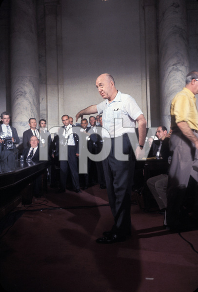 """""""Advise and Consent"""" Director Otto Preminger 1962 © 1978 Mark Shaw - Image 21811_0001"""