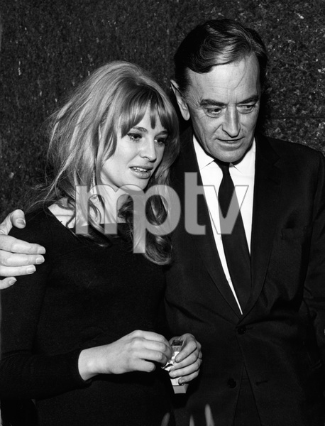 Julie Christie and David Lean on their way to a dinner party in New York1966 - Image 2191_0117