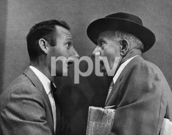 Jimmy Durante and photographer Gene Trindl circa 1960s © 1978 Gene Trindl - Image 21944_0004