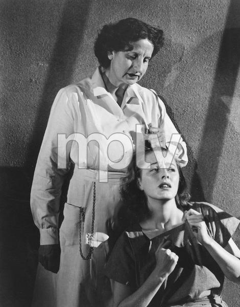 CAGED, WARNER BROS 1950, Eleanor Parker, Hope Emerson, IV - Image 22191_0001