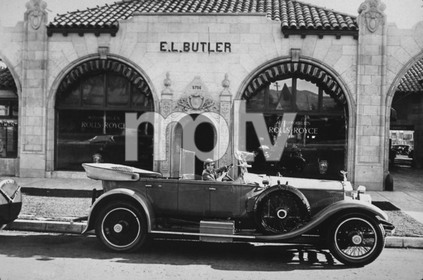 2222-736  JACKIE COOGANIN HIS CIRCA.1923 ROLLS ROYCE TOURING*M.W.*  - Image 2222_736