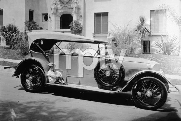 2222-737 JACKIE COOGANAND HIS C. 1925 AUSTRO-DAIMLER TOURING, C.1925.*M.W.*  - Image 2222_737