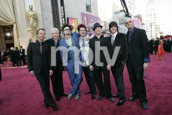 """The Counting Crows, Academy Award nominees for Best Original Song for """"Accidentally in Love,"""" arrive at the 77th Annual Academy Awards at the Kodak Theatre in Hollywood, CA on Sunday, February 27, 2005.  HO/AMPAS - Image 22270_0010"""
