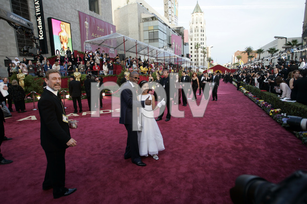 Best Actor Academy Award nominee Jamie Foxx poses with his daughter Corrine before the 77th Annual Academy Awards at the Kodak Theatre in Hollywood, CA on Sunday, February 27, 2005.  HO/AMPAS - Image 22270_0114