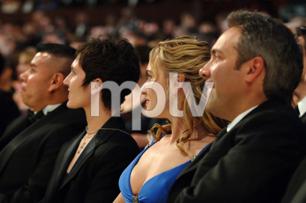 "Kate Winslet, Academy Award Best Actress nominee for her work in ""Eternal Sunshine of the Spotless Mind,"" watches the 77th Annual Academy Awards at the Kodak Theatre in Hollywood, CA on Sunday, February 27, 2005.  HO/AMPAS - Image 22270_0134"