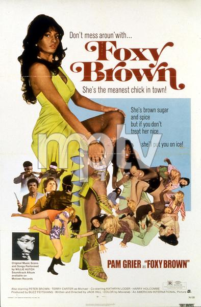 """Foxy Brown"" (poster)1974 AIP** I.V. - Image 22353_0004"